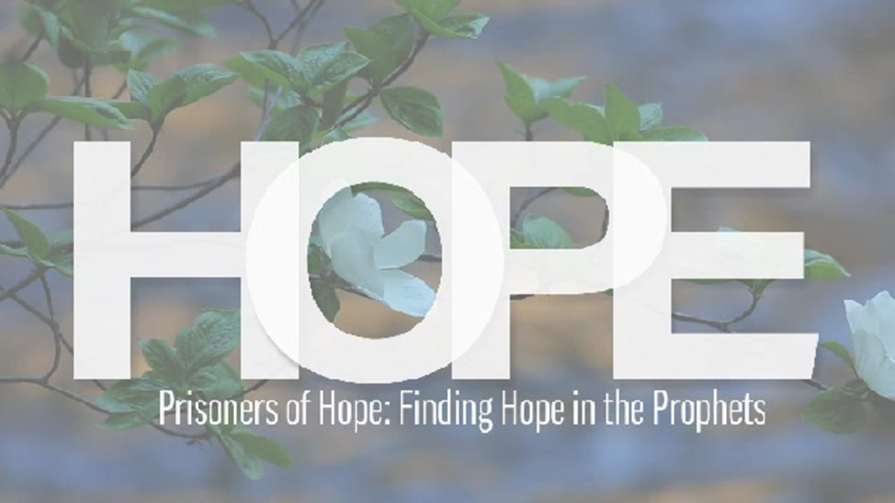 Prisoners of Hope: Finding Hope in the Prophets